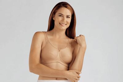 Mastectomy Bra Tan