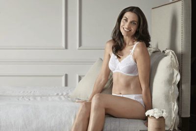 Mastectomy Bra White